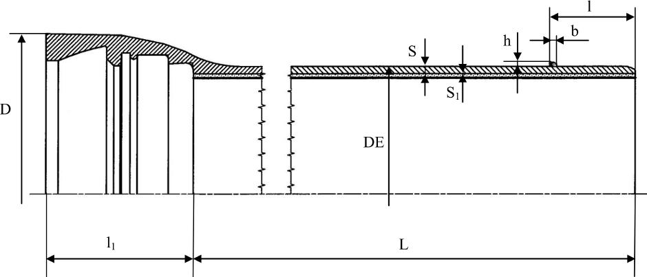 Труба раструбная с соединением RJS